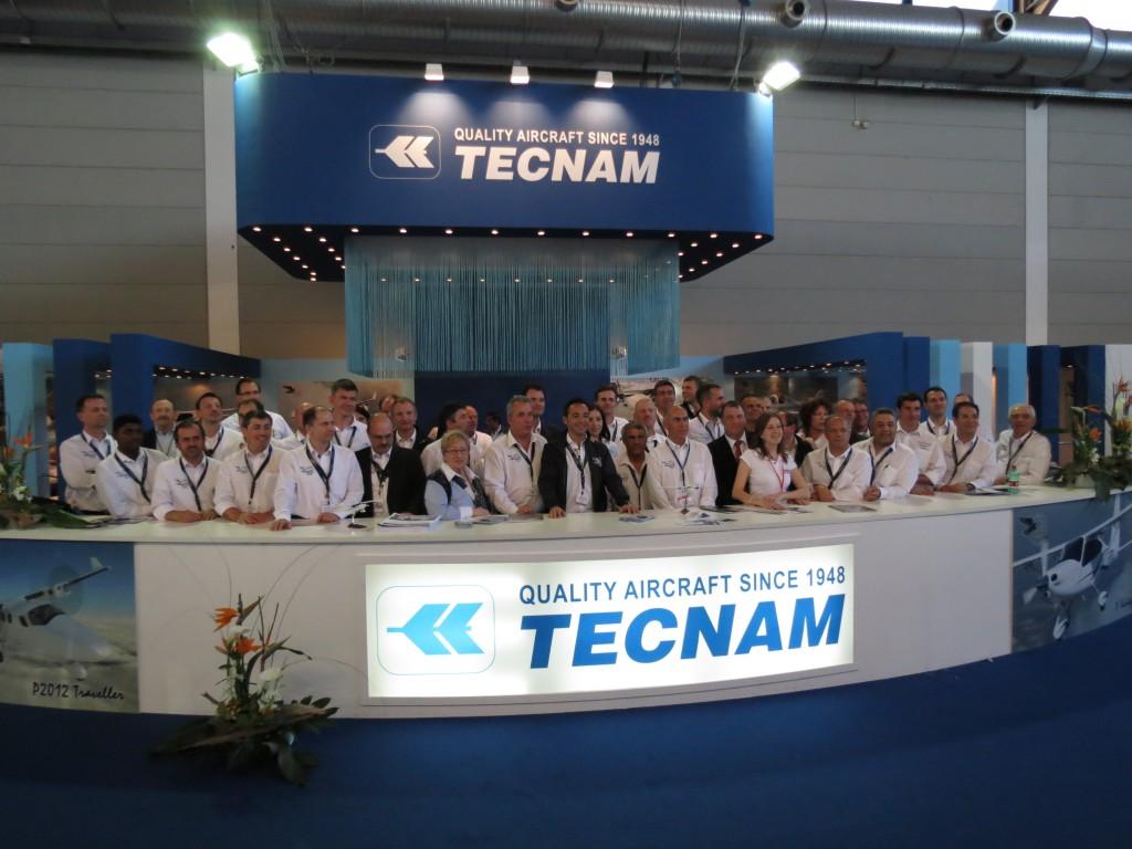 Команда Tecnam на Aero 2013