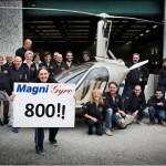 800-ый экземпляр гирокоптера Mafni Gyro