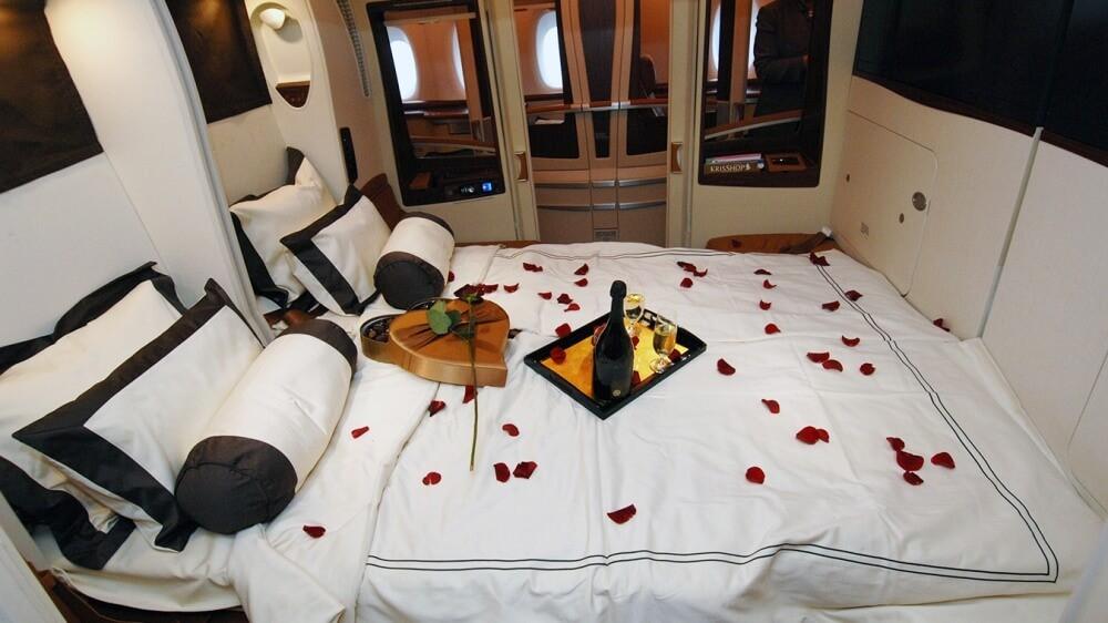 ліжко в літаку