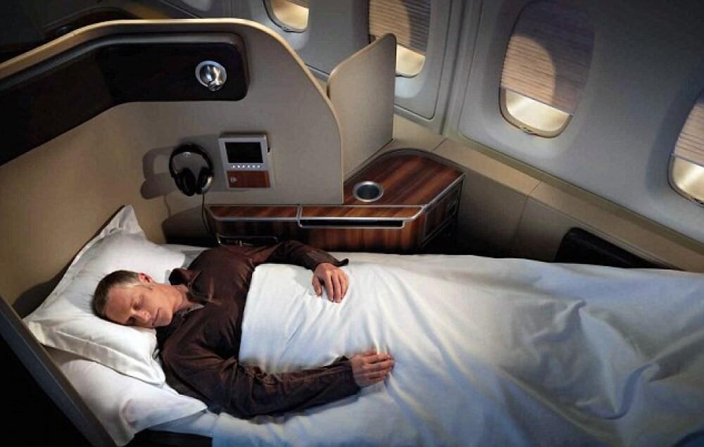 сон на літаку