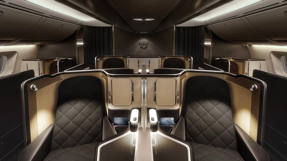дорогий преміум місця на літаку