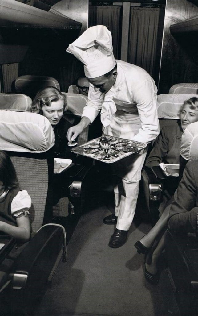 Редкие ретро фотографии в самолетах