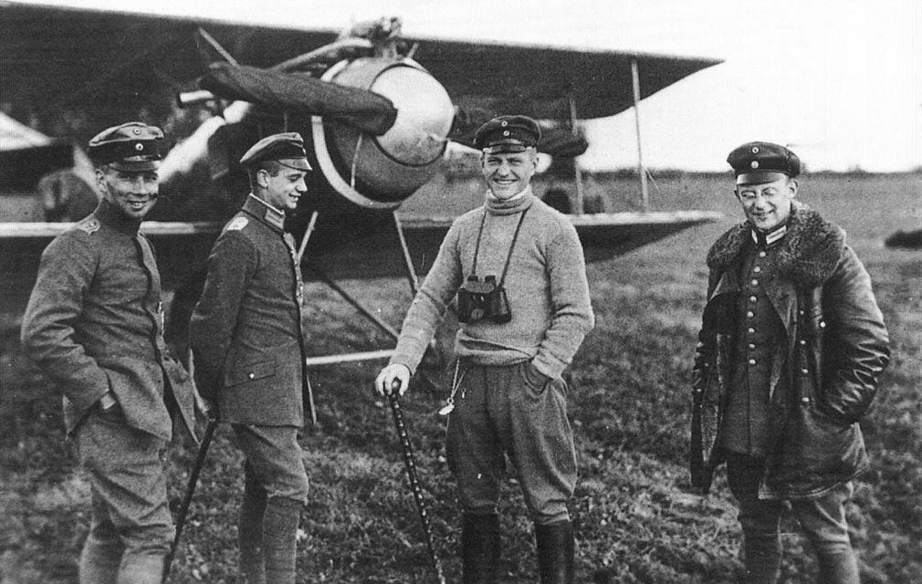 Авиация Первой мировой войны в ретро фотографиях