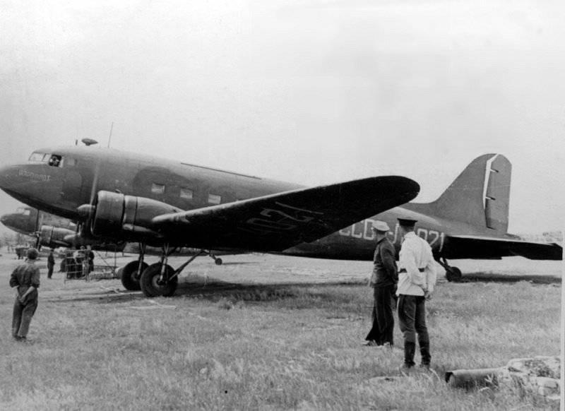 Авиация Второй мировой в ретро фотографиях