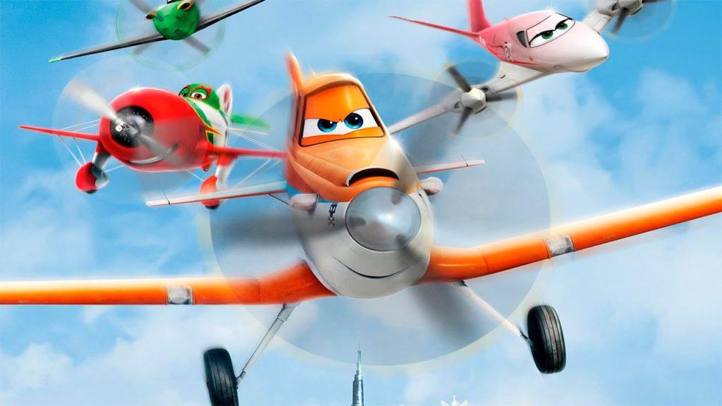 мультфильм самолетики