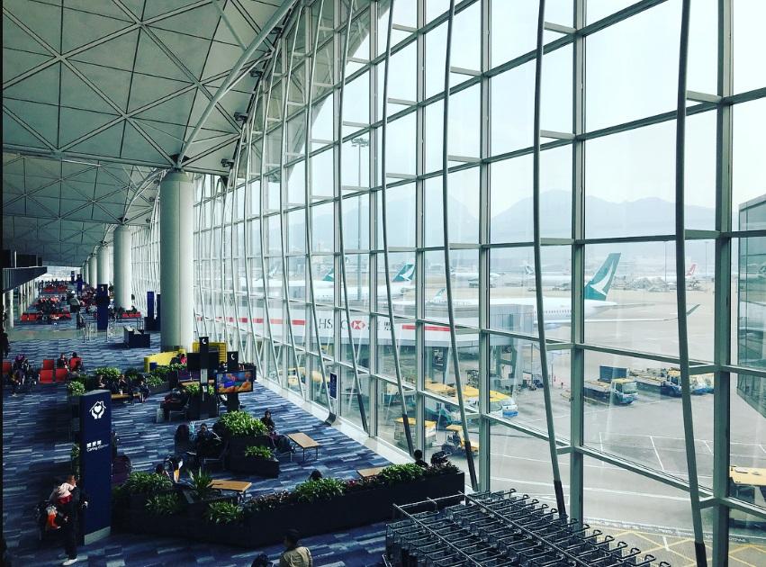 Міжнародний аеропорт Гонконгу.