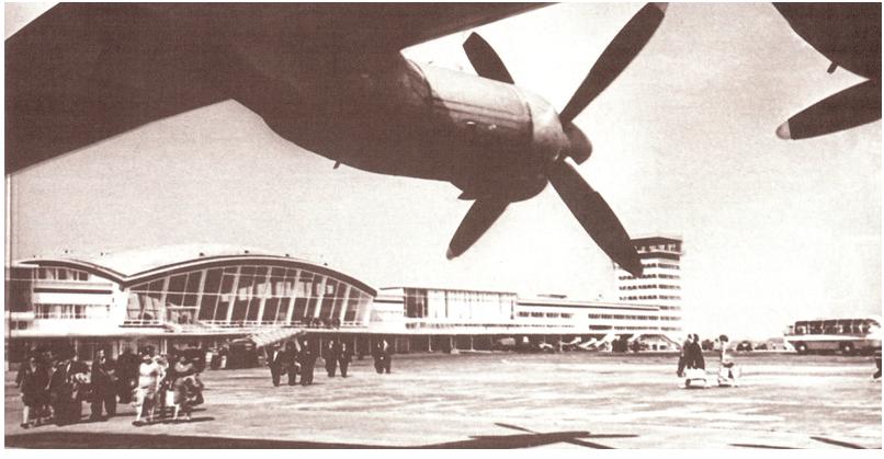 Как строился Борисполь. История аэропорта в старых фотографиях