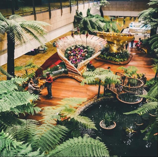 Сингапурский аэропорт Чанги.