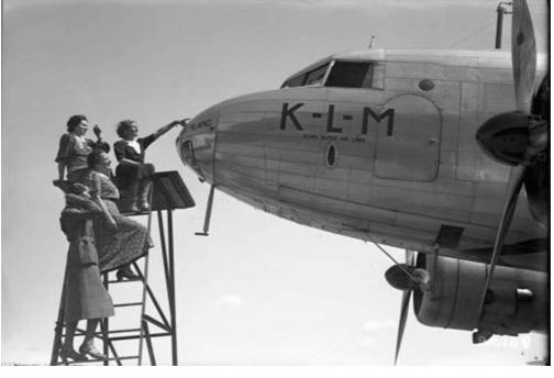 95 лет истории авиакомпании KLM в ретро фотографиях 3