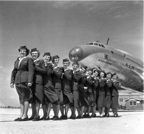 95 лет истории авиакомпании KLM в ретро фотографиях 9