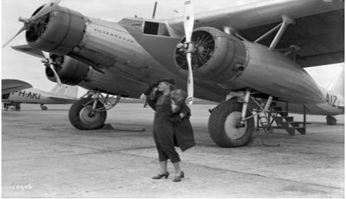 95 лет истории авиакомпании KLM в ретро фотографиях 2
