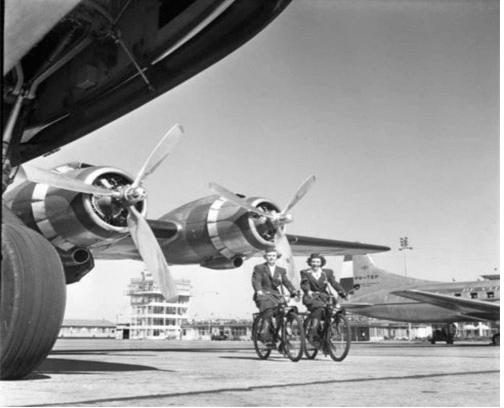 95 лет истории авиакомпании KLM в ретро фотографиях 10