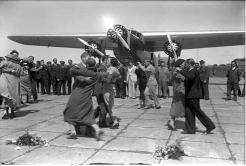 95 лет истории авиакомпании KLM в ретро фотографиях 4