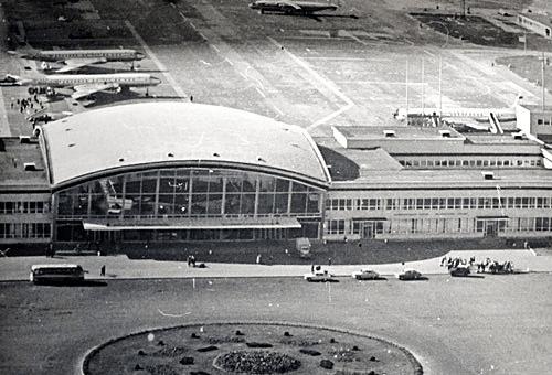 Как строился Борисполь. История аэропорта в старых фотографиях 8