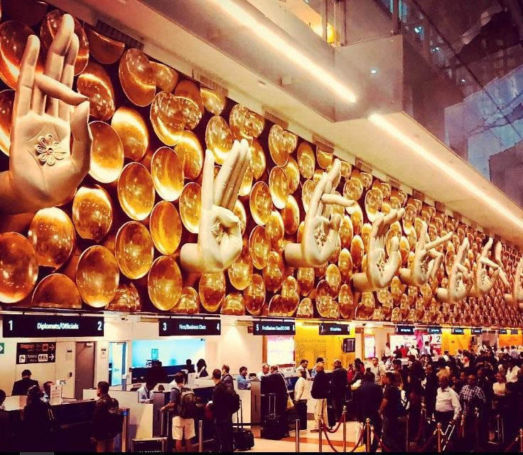 Международный аэропорт Doha Hamad.