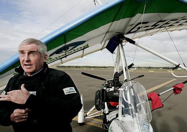 Майлз Гілтон-Барбер. Історія незрячого пілота