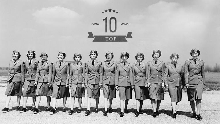 Топ-10 самых известных бортпроводников за всю историю авиации